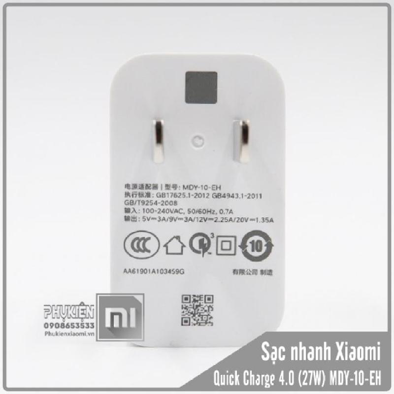 Củ sạc nhanh Xiaomi MDY-10-EH 27W Quick Charge 4.0