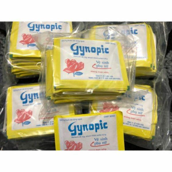 Gói vệ sinh phụ nữ hoa hồng Gynopic (bịch 10g )