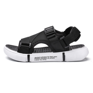 Dép sandal (xăng-đan) quai LƯỚI đế chữ unisex học sinh thời trang phong cách Hàn Quốc cực TGG68-03 2