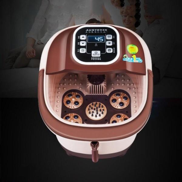 Máy mát xa chân, máy massage bàn chân Obis bồn ngâm chân tự động thêm nhiệt máy mát xa điện