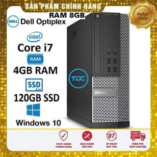 Máy tính để bàn Dell Optiplex Core i7, Ram 4GB, SSD 240gb. Quà Tặng, Bảo hành 2 năm thumbnail