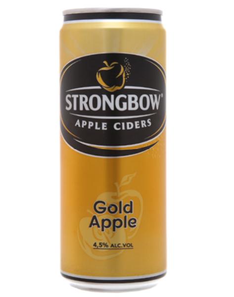 1 lon strongbow táo gold apple 330ml