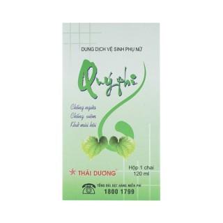 QUÝ PHI XANH Sao Thái Dương Chống ngứa, chống viêm, khử mùi hôi, giữ ẩm làm mềm niêm mạc ( chai 120ml) thumbnail