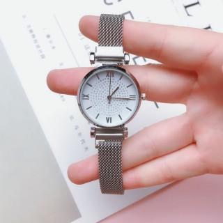 Đồng hồ thời trang nữ AKS04 dây nam châm vĩnh cửu, lên tay chắc chắn, kiểu dáng sang trọng, mặt mỏng chỉ 7mm thumbnail