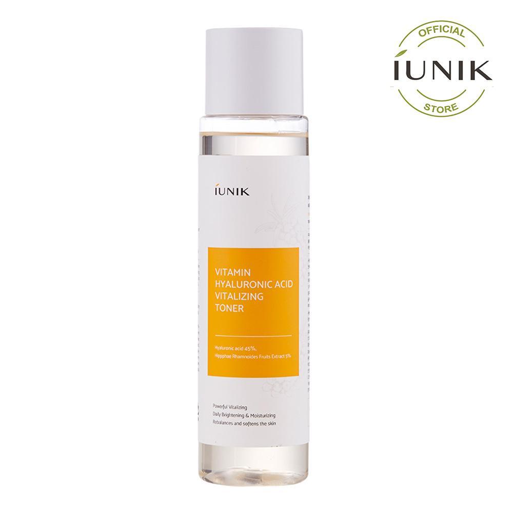 Nước Cân Bằng IUNIK Vitamin Hyaluronic Acid Vitalizing Toner 200ml cao cấp