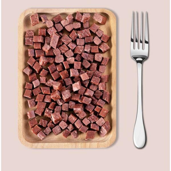 Thịt Bò Khối Ăn Vặt Cho Chó Mèo - Gói 50gr