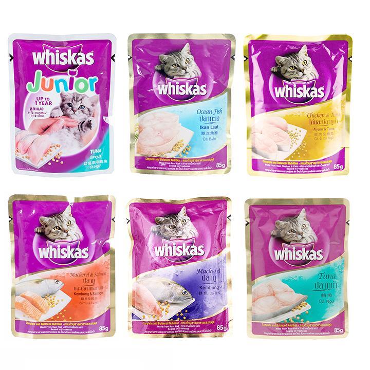 Chương Trình Ưu Đãi cho Thức ăn Pate Whiskas 85g Dành Cho Mèo