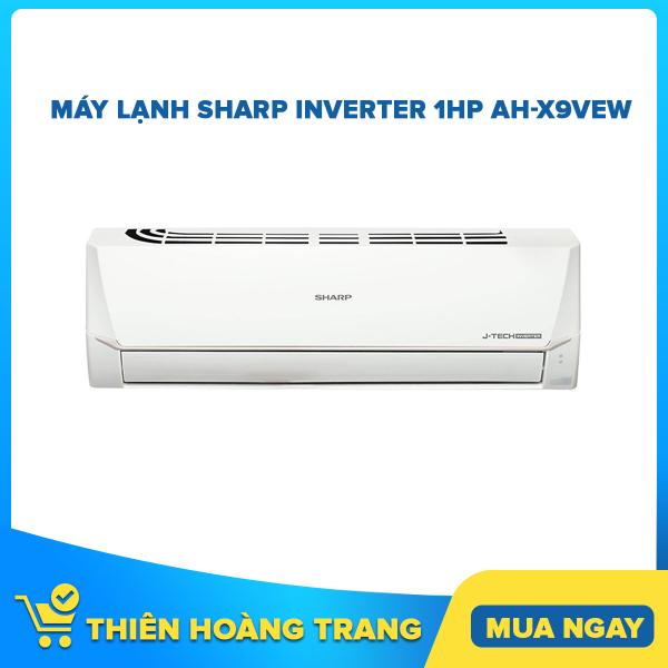Máy Lạnh Sharp Inverter 1HP AH-X9VEW