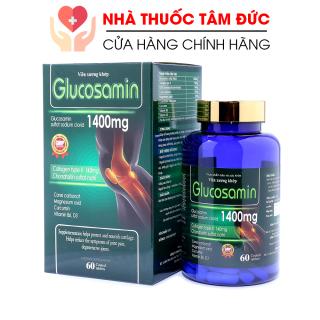 Viên Uống Bổ Xương Khớp Glucosamin 1400mg giảm đau nhức mỏi xương khớp, giảm thoái hóa khớp - Hộp 60 viên thumbnail