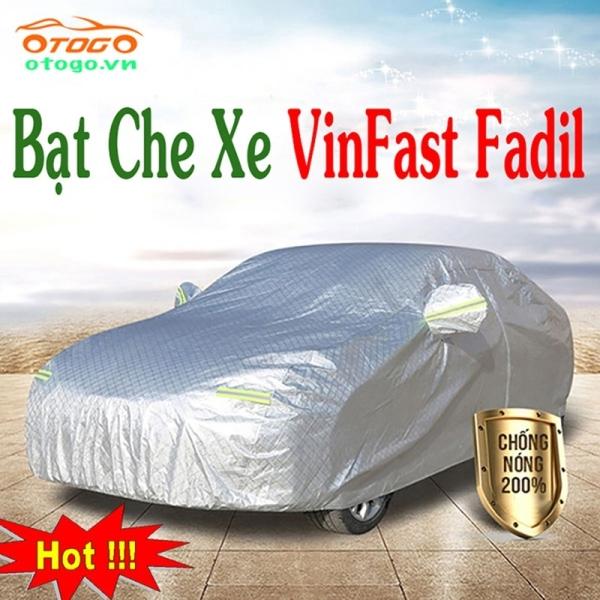 Bạt phủ ô tô #VinFast FADIL  A2.0 - CAO CẤP 3 LỚP Cách Nhiệt, Bạt phủ xe ô tô VinFast Fadil (hàng cao cấp)
