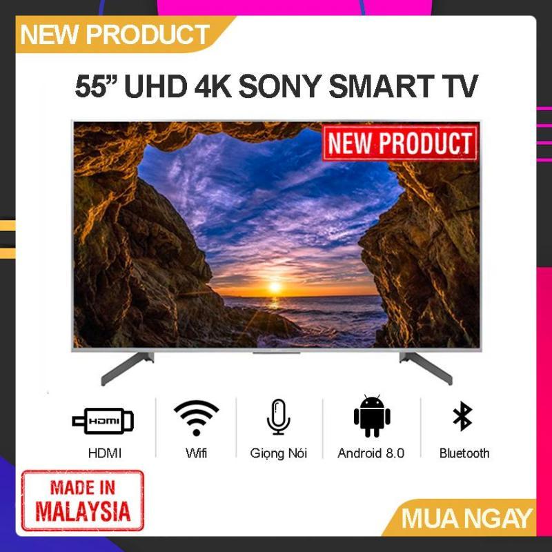 Bảng giá Smart TV Sony 55 inch UHD 4K - Model 55X8500G/S Android 8.0, Tìm kiếm giọng nói, Google Assistant, Youtube, Netflix - Bảo Hành 2 Năm