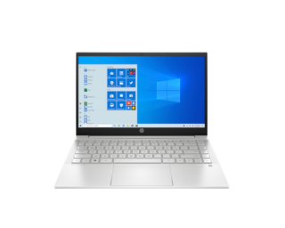 Laptop HP Pavilion 14 Natural Silver Intel Core i5-1135G7 (up to 4.2Ghz, 8MB) RAM 8GB 256GB SSD Intel Iris Xe Graphics 14 inch FHD 3Cell Win10H 1Yr thumbnail