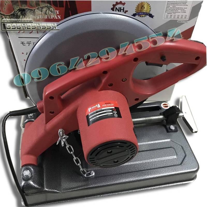Máy cắt sắt bàn PANDA PA 352P- Bảo hành 12 tháng (tặng lưỡi cắt 355) - máy cắt sắt để bàn