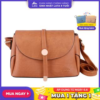 Túi đeo chéo nữ thời trang LATA HN59 chất liệu da tổng hợp, không bong tróc và không thấm nước thumbnail