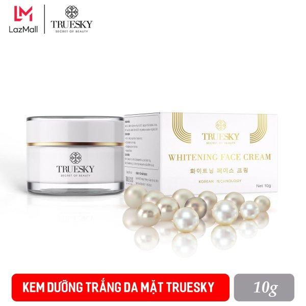 Kem dưỡng trắng da mặt Truesky chiết xuất ngọc trai 10g - Whitening Face Cream giá rẻ