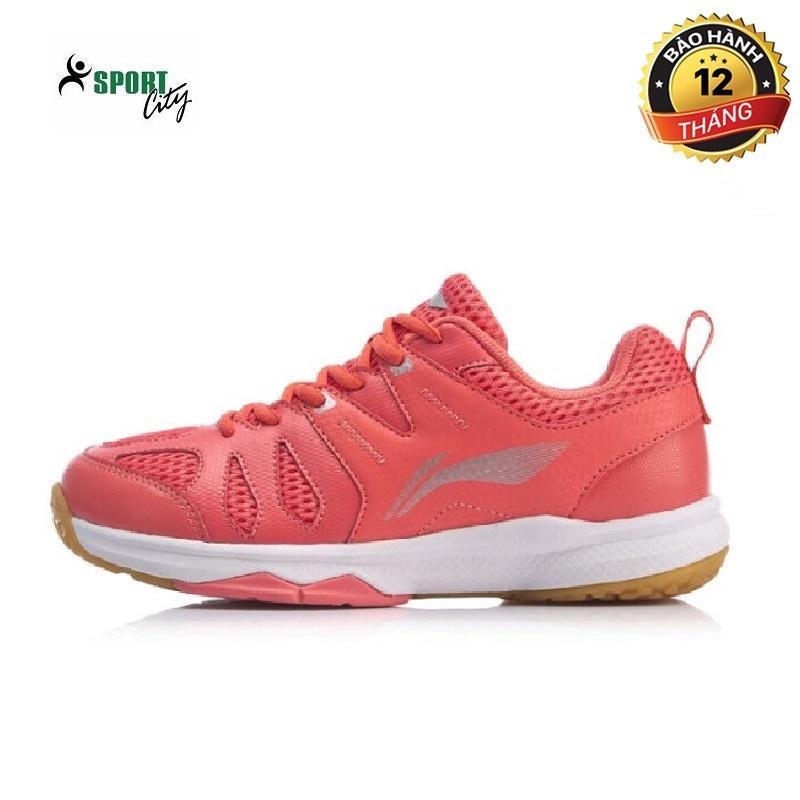 Bảng giá Giày cầu lông nữ - giày bóng chuyền nữ Lining AYTP034-2 mẫu mới công nghệ đế giảm chấn giúp bảo vệ đôi chân khi di chuyển màu hồng đủ size