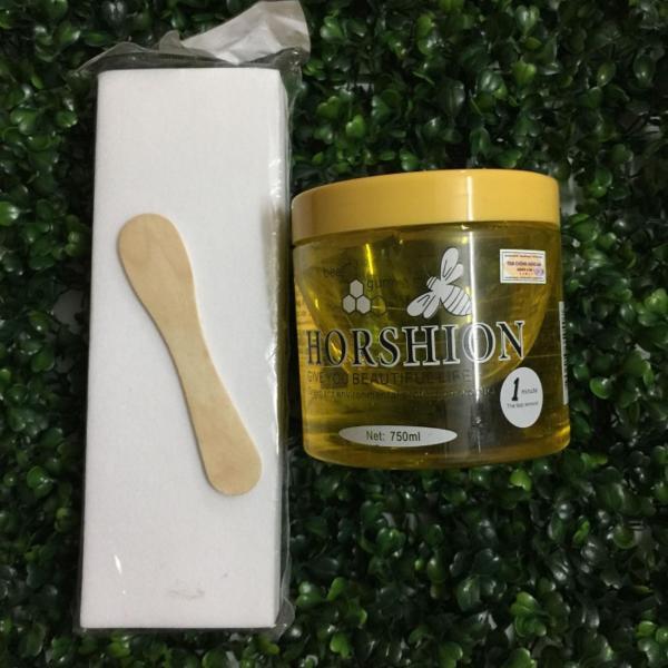 Wax lạnh horshion-Tặng kèm 100 Miếng giấy wax nhập khẩu