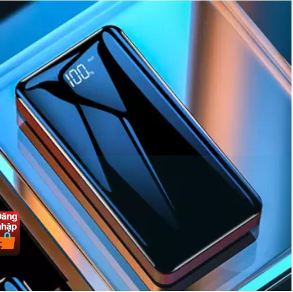 Giá Hot Duy Nhất tại Lazada Khi Mua [TẶNG KÈM TAI NGHE CAO CẤP] NHANH VÔ PIN - PIN SẠC DỰ PHÒNG LCD 28000MAH SẠC NHANH 2.A 2 CỔNG USB KÈM ĐÈN PIN SIÊU SÁNG - PIN BỀN, ÍT TỐN PIN, TUỔI THỌ HƠN 1000 LẦN SẠC NHANH