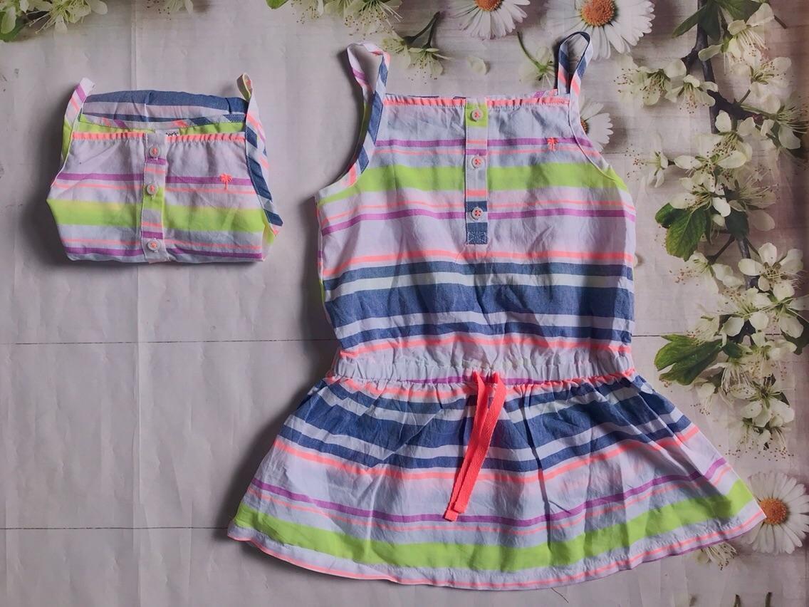 Đầm bé gái Carter's - Size < 15kg Nhật Bản