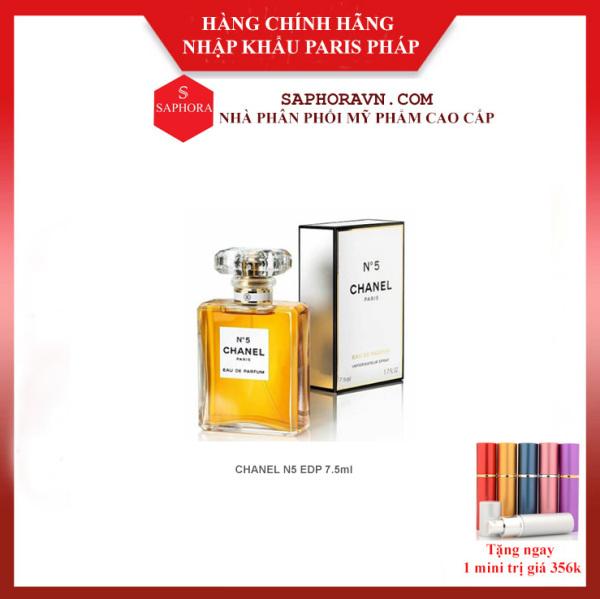 Nước Hoa Chanel N5 Chính Hãng Lưu Hương tren 18h Bản EDP 7.5ml