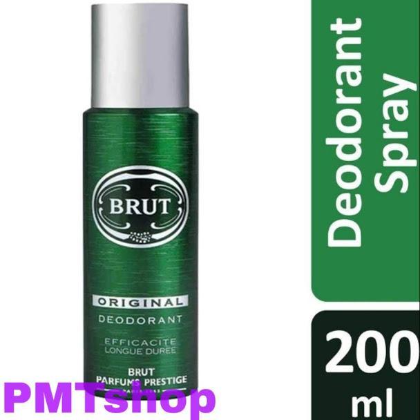 [France] Xịt thơm toàn thân nam Brut Original 200ml hương cổ điển Khử Mùi Toàn thân - Pháp