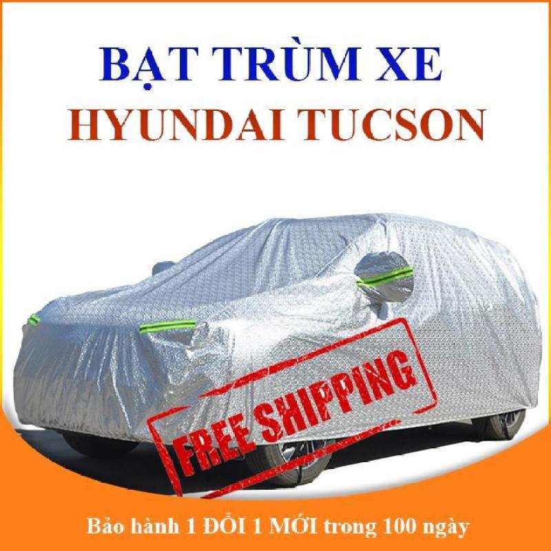 Bạt phủ xe ô tô Hyundai Tucson, bạt trùm xe hơi 5 chỗ cao cấp chống nắng mưa và bụi bẩn
