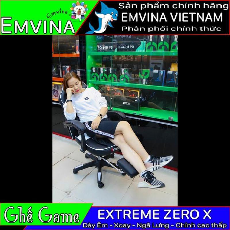 (Kho HCM) Ghế Game EXTREME ZERO X Ghế Gaming đệm dày ngã lưng 2 gối tựa bánh xe di chuyển cần hơi điều chỉnh cao thấp Ghế ngồi Văn Phòng Emvina Chất Lượng Hơn Zero S Giá Chỉ Chênh 1 Xíu giá rẻ