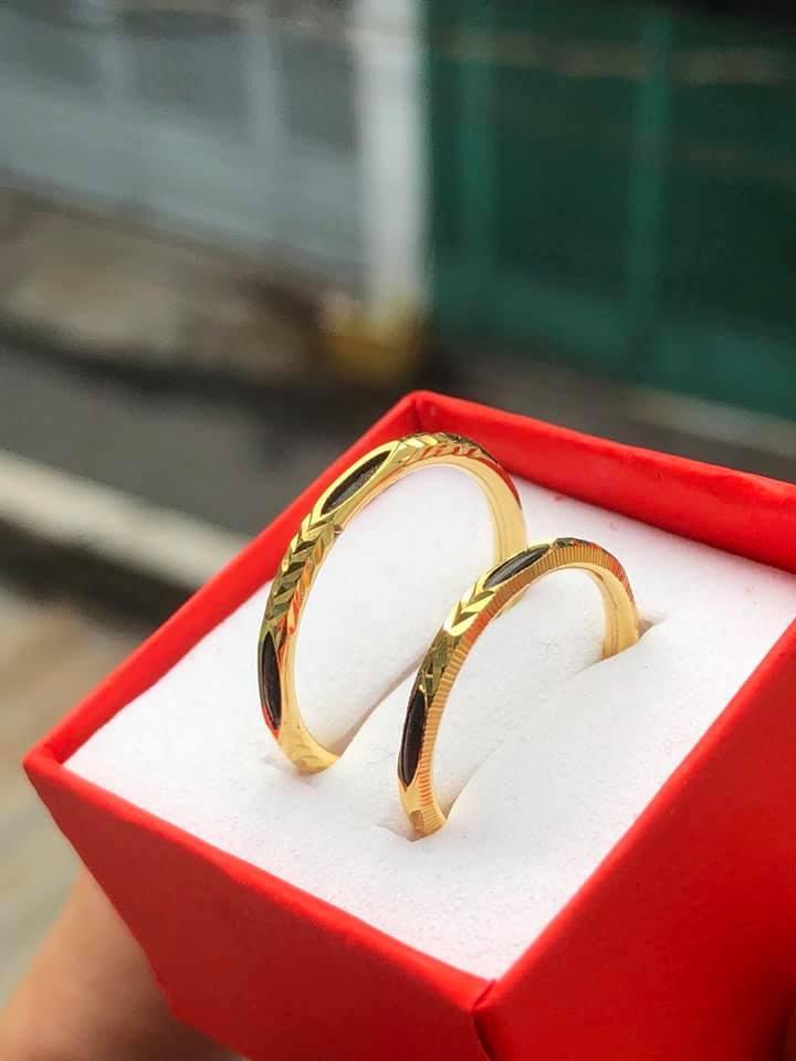 nhẫn vàng tây bọc lông zoi