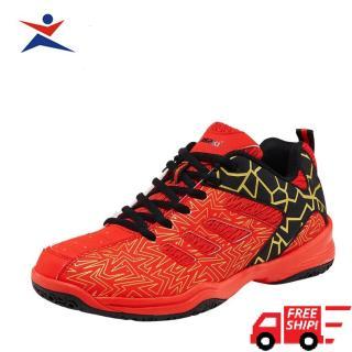 Giày cầu lông cao cấp Kawasaki K075 màu đỏ trẻ trung, năng động, siêu bền, siêu mềm , đa dạng kiểu dáng dành cho nam và nữ thumbnail