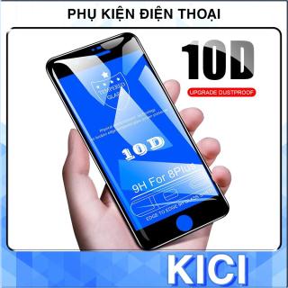 Kính Cường Lực 10D Miếng Dán Màn Hình Iphone Full Màn Iphone 6 6s 6plus 7 7plus 8 8plus plus x xr xs 11 12 pro max KICI thumbnail