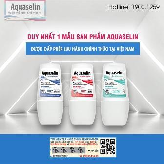 Aquaselin lăng khử mùi loại bỏ hôi nách (loại 20ml) nhập khẩu