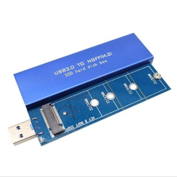 Bảng giá Hộp đựng ổ cứng SSD M.2 USB 3.0 Box SSD 1 Khe Phong Vũ
