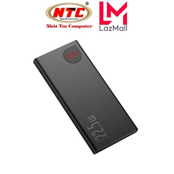Pin sạc dự phòng Baseus Adaman Metal Digital Display 10000mAh Quick Charge  22.5W (QC3.0/ PD3.0/ SCP/ AFC) - Nhat Tin Authorised Store