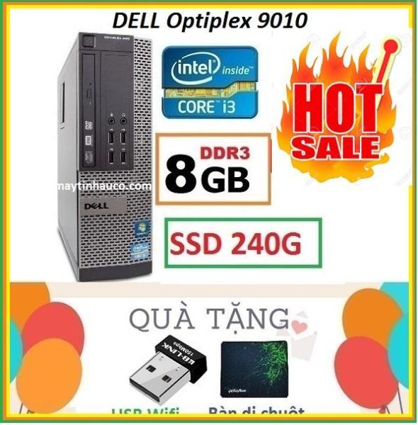 Bảng giá Thùng Dell optiplex 9010 Core i3 3220 / 8G / SSD 240G , Khuyến Mai USB wifi , Bàn di chuột - Bảo hành 02 Năm Phong Vũ