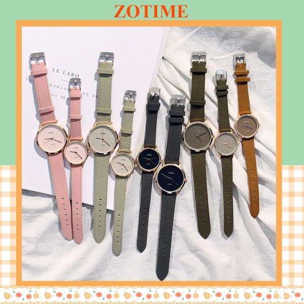 Đồng hồ nam nữ đeo tay đẹp thiết kế đơn giản sang trọng ZO85
