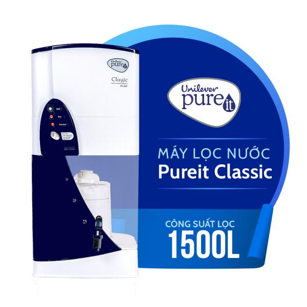Bảng giá Máy lọc nước Pureit Classic - Tiêu chuẩn bảo vệ môi trường Mỹ - Thông báo khi nào phải thay lọc - Hàng chính hãng bảo hành 6 tháng Điện máy Pico