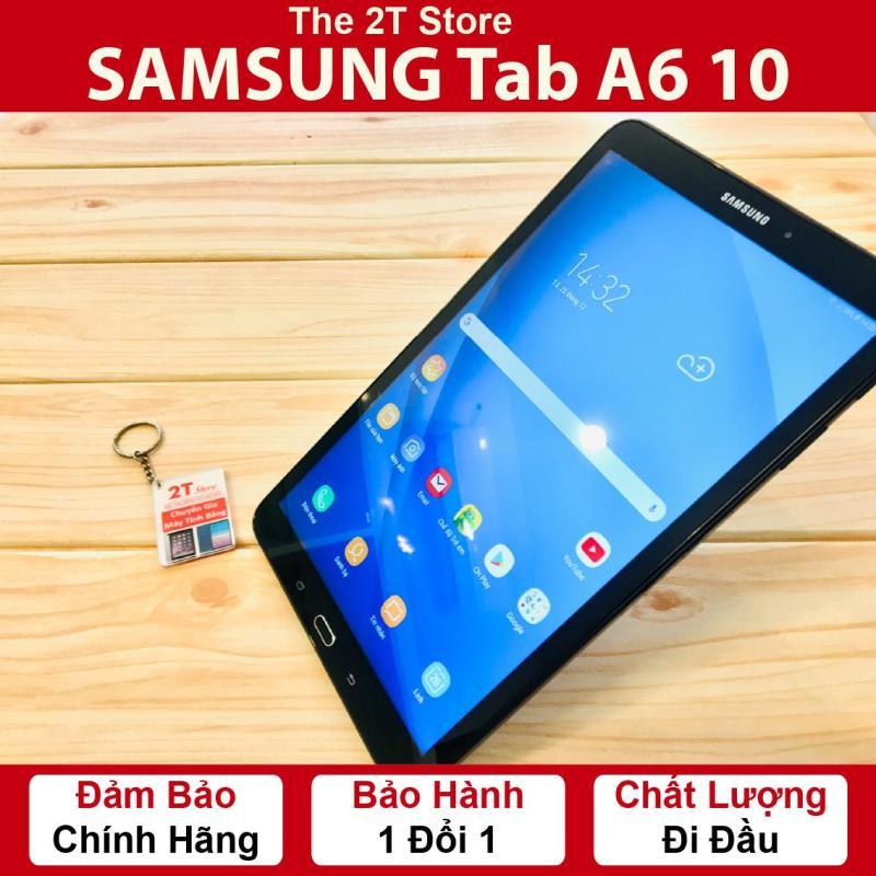 Máy tính bảng Samsung Tab A6 10  màn hình to  (Wifi+4G) - Ram 2GB - Chip Exynos 787-  Pin dung lượng 7300 mAh.