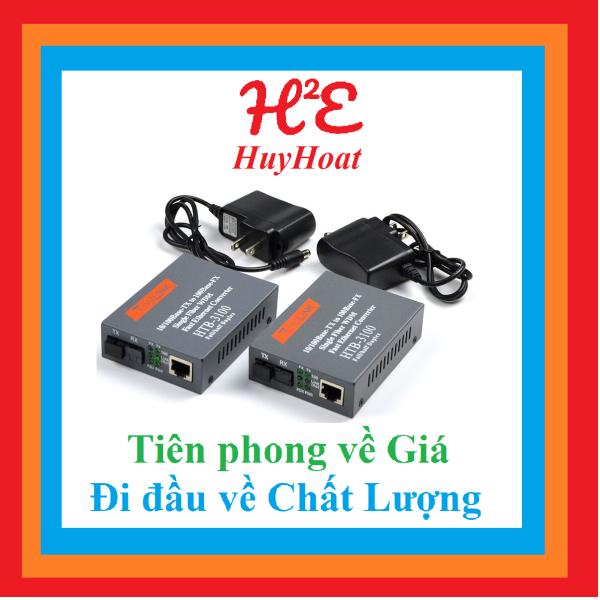 Bảng giá Bộ Chuyển Đổi Quang Netlink HTB 3100A và HTB 3100B Phong Vũ