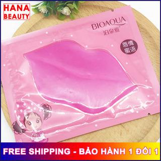 [3 MIẾNG DÙNG THỬ] Mặt nạ môi Biaoqua hana tech Mặt nạ Collagen dưỡng ẩm môi nội địa trung - Hanatech thumbnail
