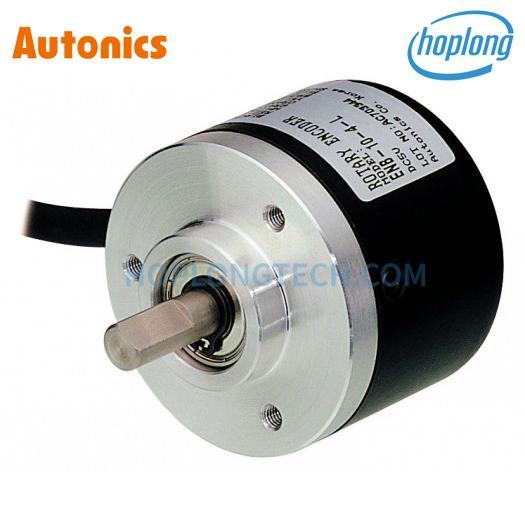 E40S6-600-3-T-24 Bộ mã hóa vòng quay phi 6mm loại trục 12-24VDC 600 xung ngõ ra điều khiển Totem Autonics