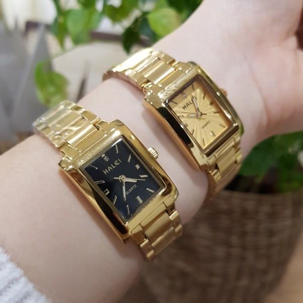 Đồng hồ nữ Halei 004 chính hãng cao cấp, máy đồng hồ là máy sản xuất theo tiêu chuẩn của Nhật Bản, đa dạng sản phẩm, cam kết hàng như hình