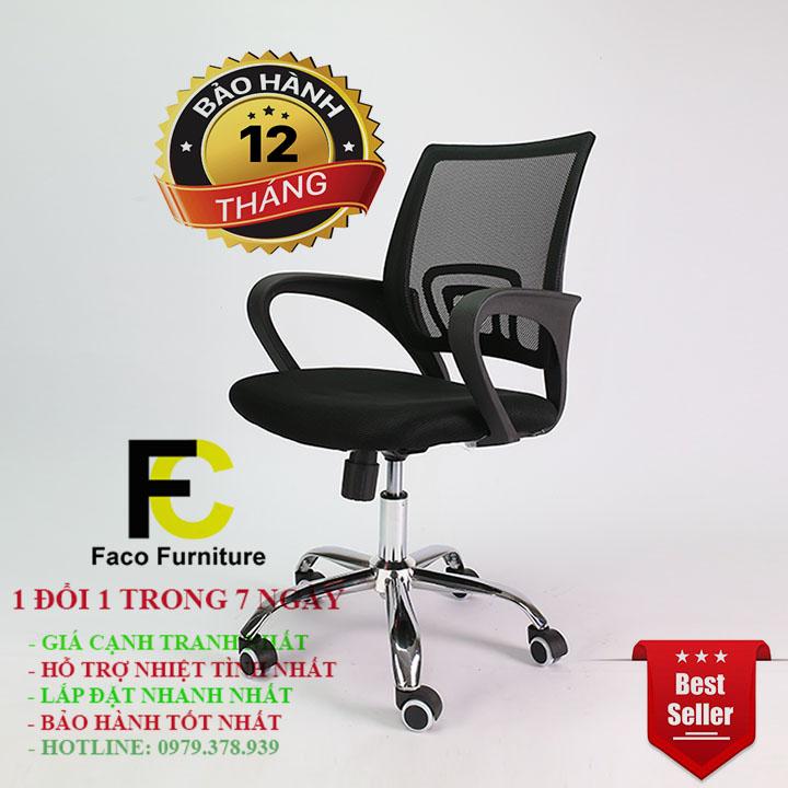 Ghế xoay văn phòng, ghế làm việc BE005BB hot nhất hiện nay - Giảm giá sập sàn