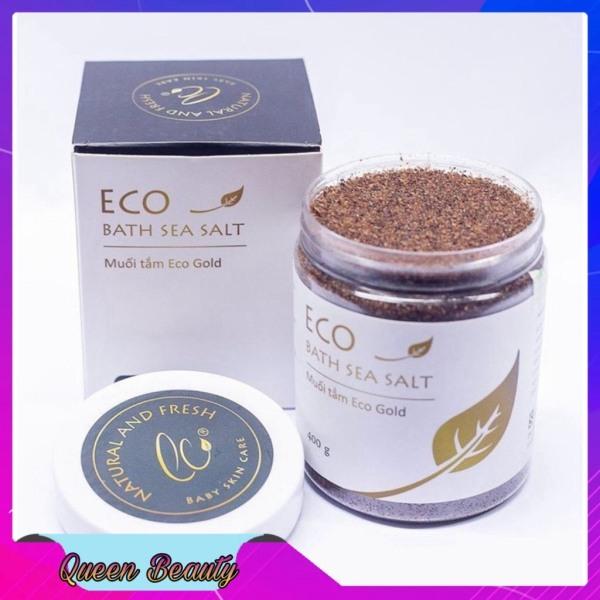 Muối tắm bé ECO – Gold (400 gram) Làm sách bé an toàn hiệu quả