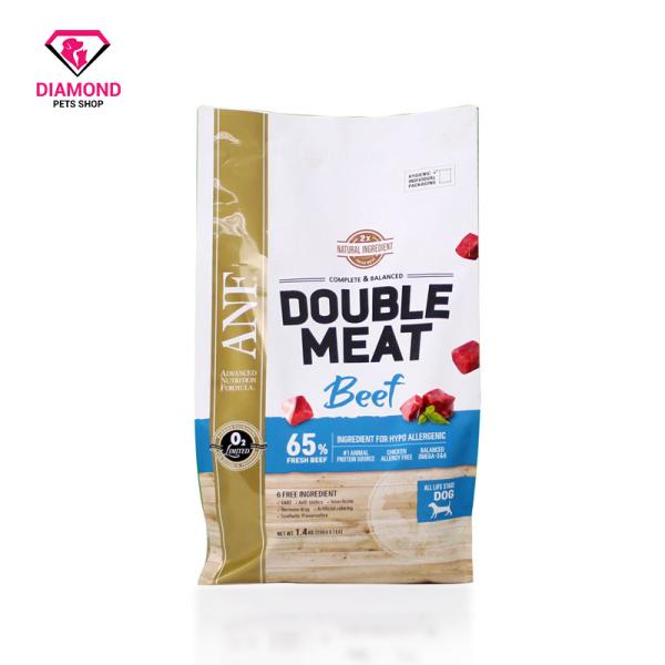 [1.4kg] THỨC ĂN HẠT GẤP ĐÔI THỊT TƯƠI CHO CHÓ VỊ BÒ ANF DOUBLE MEAT