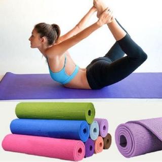 Thảm Tập Yoga 2 Lớp Chống Trơn Trượt - Thảm Tập Gym Cao Cấp - thảm tập thể dục thể thao - dụng cụ thiết bị rèn luyện sức khỏe thumbnail