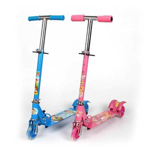 Xe Trượt Scooter 3 Bánh Phát Sáng Cho Bé Từ 3 - 6 Tuổi