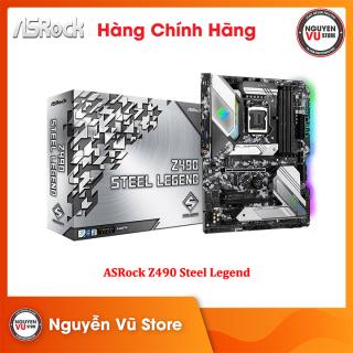 Bo Mạch Chủ Mainboard ASRock Z490 Steel Legend - Hàng Chính Hãng thumbnail