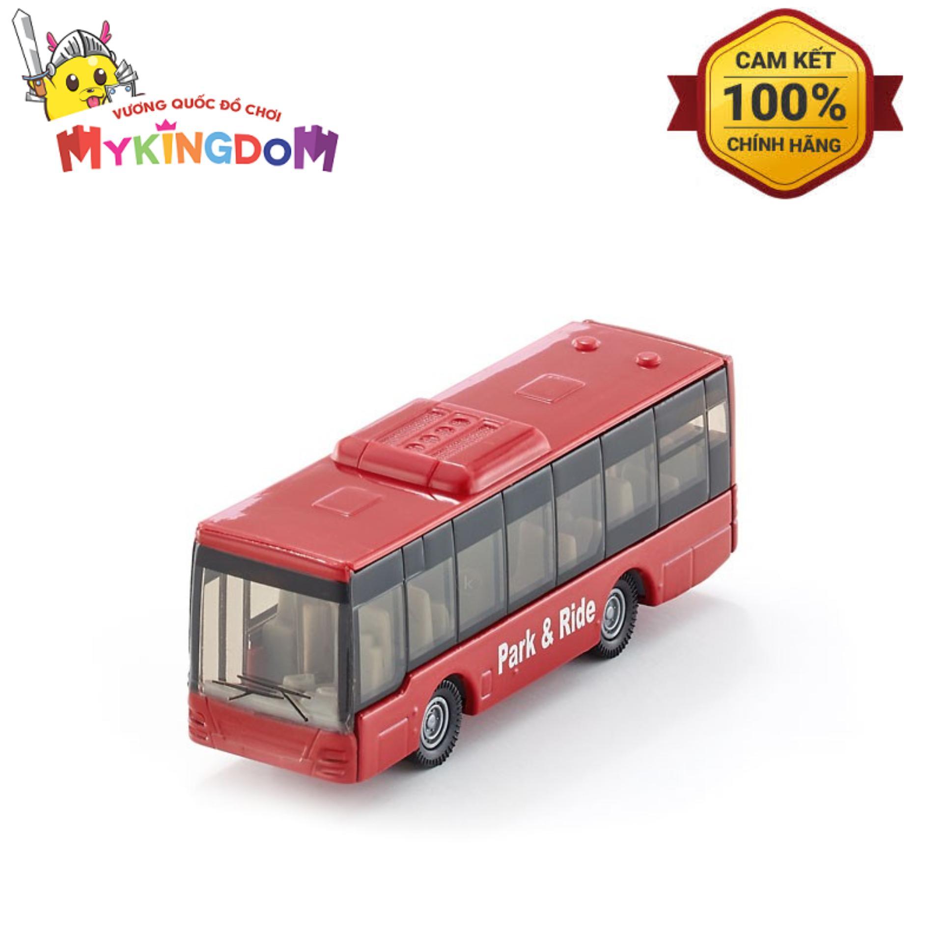 Mô hình xe Siku Blister 10 - Xe buýt nội thành 1021