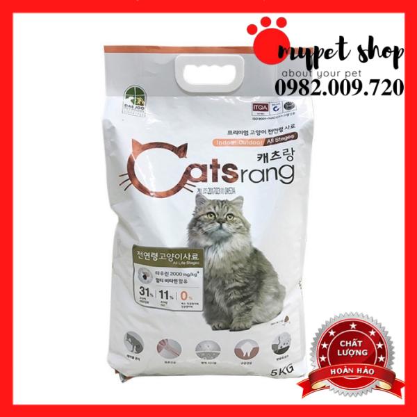 Thức ăn hạt cho mèo mọi lứa tuổi - Catsrang 5kg