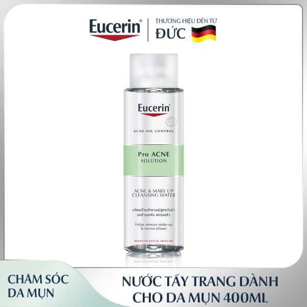 Nước Tẩy Trang Cho Da Mụn Eucerin Pro Acne Micellar 400ml